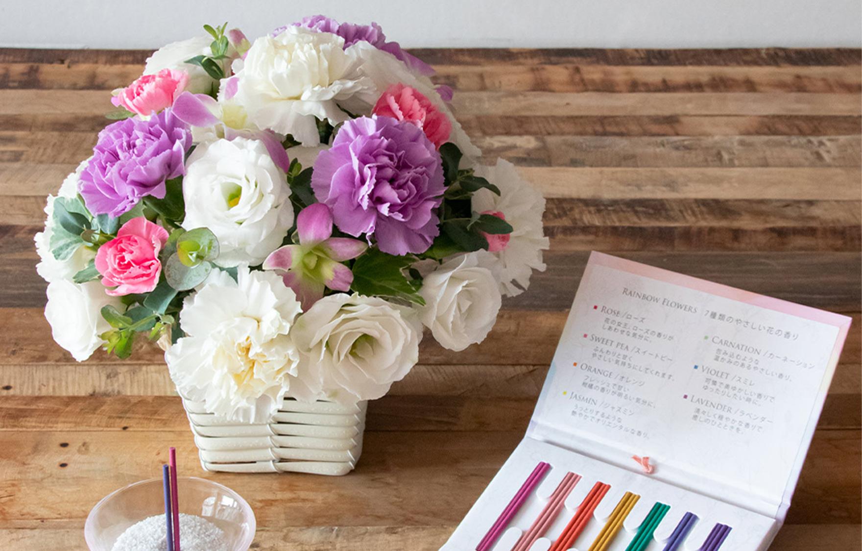 お供えのお花はフラワーアレンジメントが無難